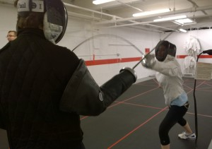 Epee lesson