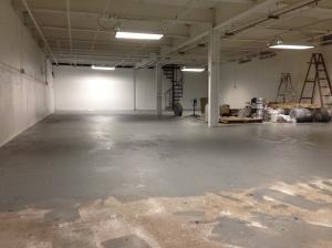 Almost done floor!