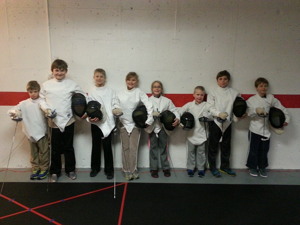 Kids Learn to Fence