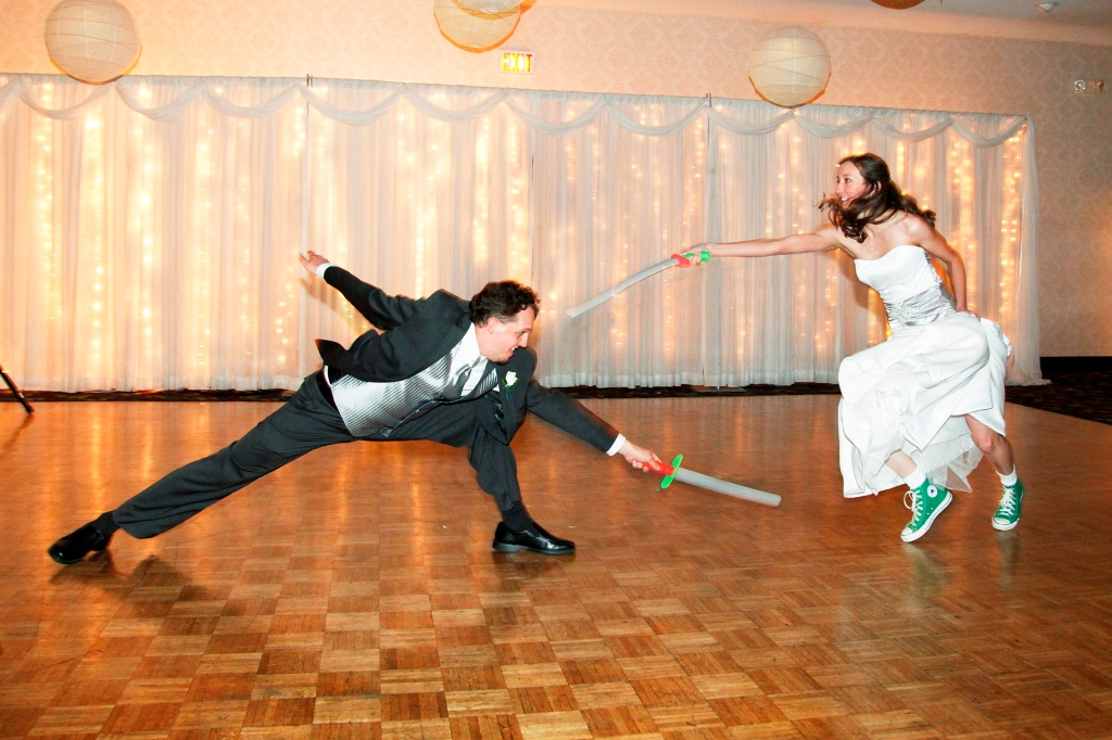 Fencer Wedding