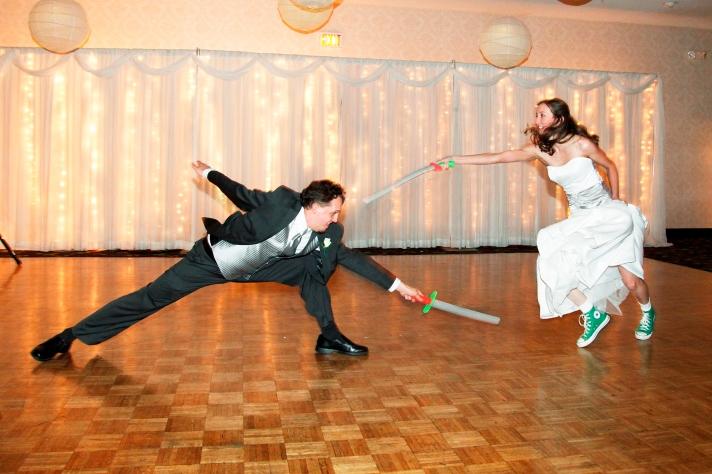 Fencer Wedding