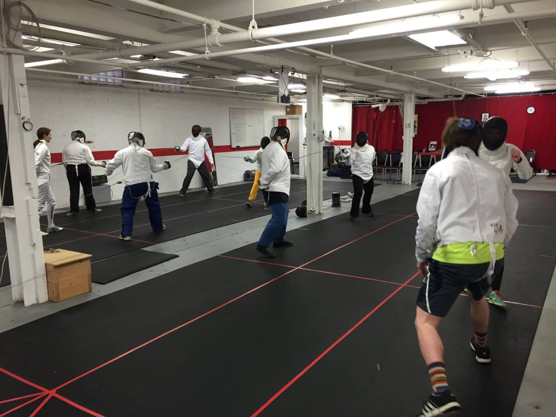 Couples' Learn to Fence
