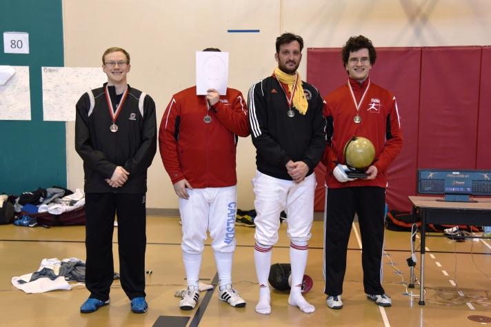 Open medalists