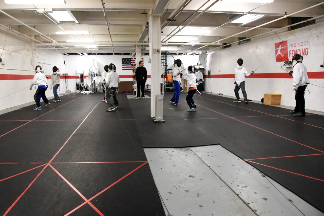 Red Door Fencing Olympic Sport Of Fencing In Des Moines