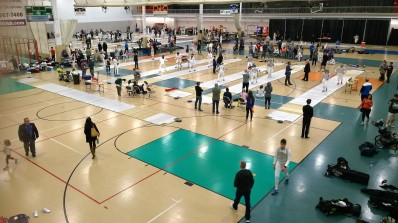 Women's Epee winds down at the 2017 Remenyik ROC