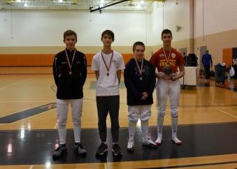 Y14 Medalists