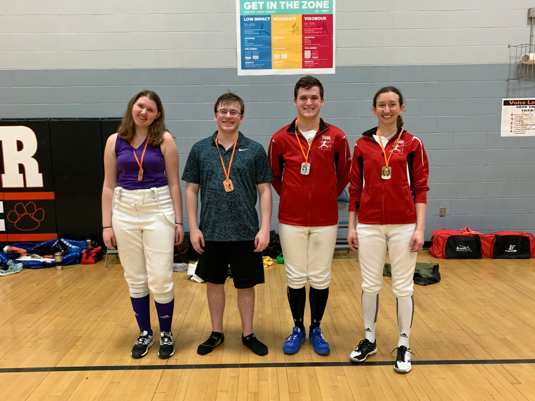 Mixed Epee medalists